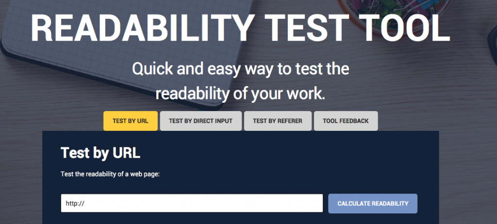 test your text readability